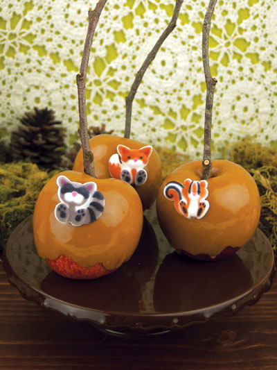 Woodland Caramel Apples