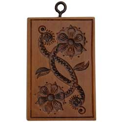 Floral Scroll Cookie Mold