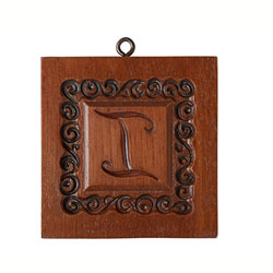 Monogram I Cookie Mold