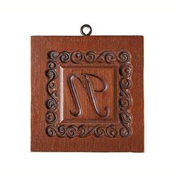 Monogram N Cookie Mold