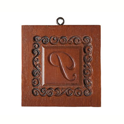 Monogram P Cookie Mold