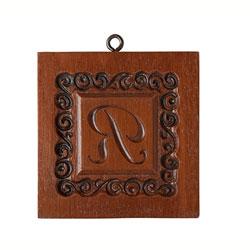 Monogram R Cookie Mold