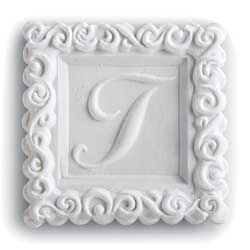Monogram T Cookie Mold