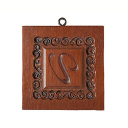 Monogram U Cookie Mold