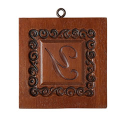 Monogram Y Cookie Mold