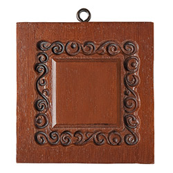 Monogram Frame Cookie Mold