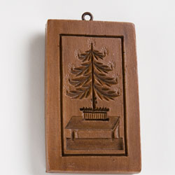 Tree on Table Cookie Mold