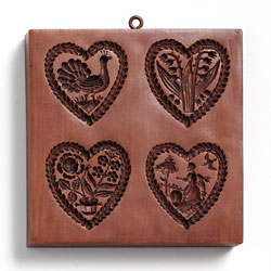 Heart Strings Cookie Mold