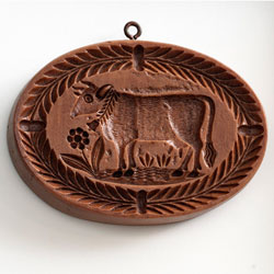 Oval Cow Cookie Mold