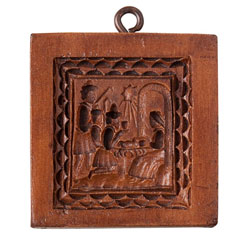 Small Nativity Cookie Mold