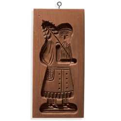 Speculaas Santa Cookie Mold