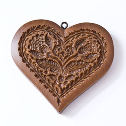 Sentimental Heart Cookie Mold