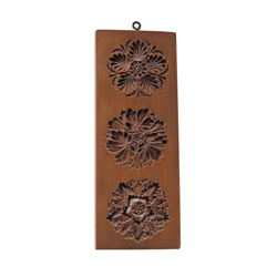 Three Rosettes Cookie Mold