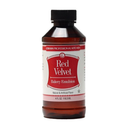 Red Velvet Bakery Emulsion Flavoring, 4 oz Bottle