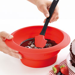 Collapsible Chocolate Melting Bowl - Lekue