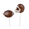 Helmet and Football Pops Chocolate Mold