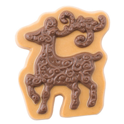Elegant Reindeer Chocolate Mold