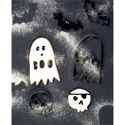 Wicked Halloween Cookie Cutter Set of 3
