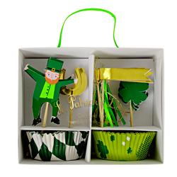 St. Patrick's Day Cupcake Kit