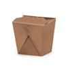 Natural Kraft Take Out Boxes, Set of 10, 2.75 x 2.5 x 2.7
