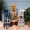 Decorative Life Guard Chairs, Set of 3