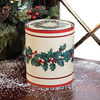 Vintage Holiday Cookie Tin