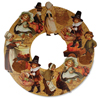 VintageThanksgiving Bethany Lowe Die Cut Wreath,  19