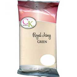 Green Royal Icing Mix, 1 lb bag