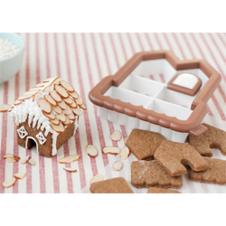 3D Mini Gingerbread  House Cookie Cutter