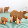 3D Safari Hippo with Baby Cookie Cutter