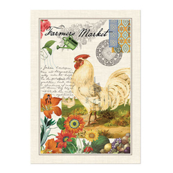 Michel Design Works Farmers Market Kitchen Towel