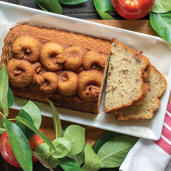 Apple Zucchini Loaf Cake