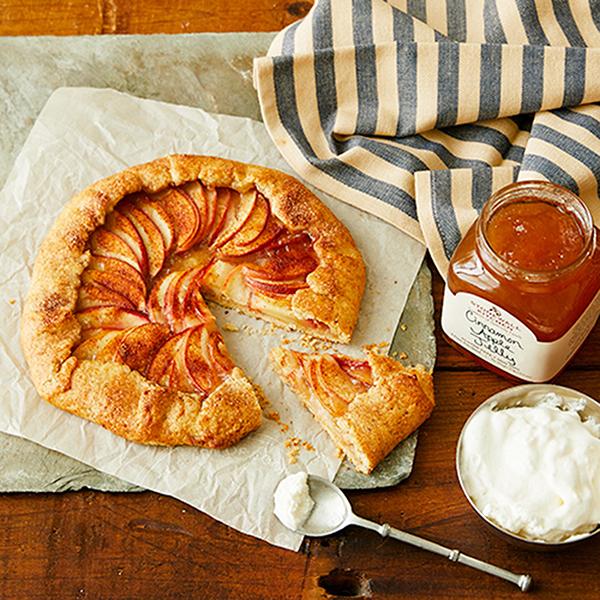 Cinnamon Apple Galette