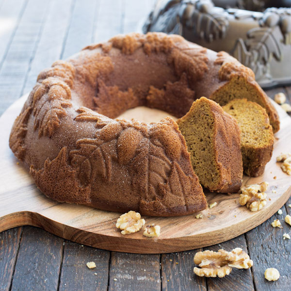 Pumpkin Cake with Ginger Cream Filling Recipe