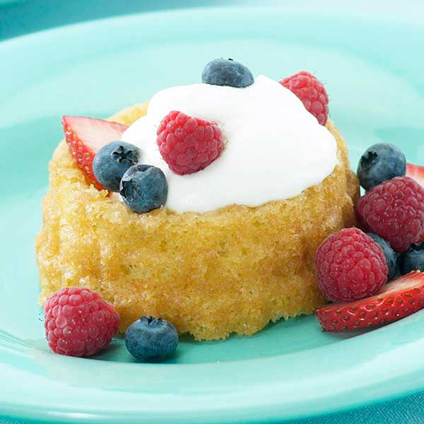 Butter Shortcakes with Fruit