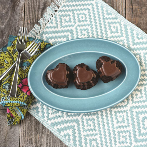 Chocolate Mocha Cakelets with Chocolate Ganache Recipe
