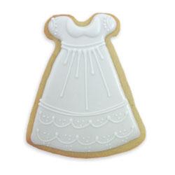 Christening Dress Cookie Cutter