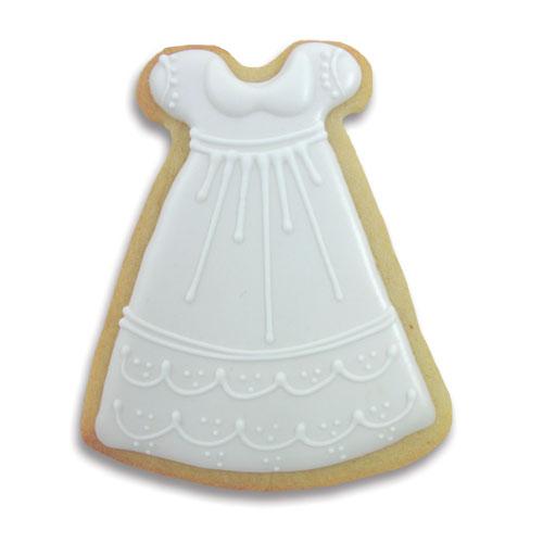 Christening Dress Cookie Cutter Baby Fancy Flours