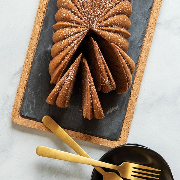 Hazelnut Espresso Loaf Cake