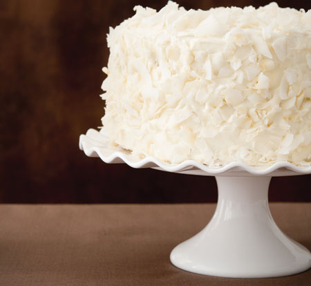 Double Coconut Cake Recipe