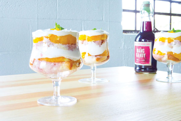 Hibiscus Orange Trifle