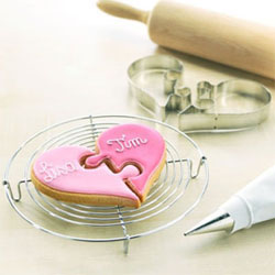 Heart Puzzle Cookie Cutter Set