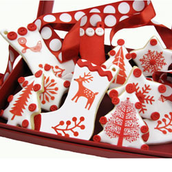 Scandinavian Christmas Wafer Paper
