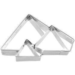 Cookie Cutter Egyptian Pyramids Stainless Steel
