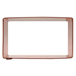 Cookie Cutter Rectangle  3X 1.5 Copper