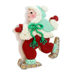 Hammer Song Ice Skater Tin Cookie Cutter