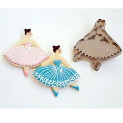 Hammer Song Snowqueen Ballerina Tin Cookie Cutter