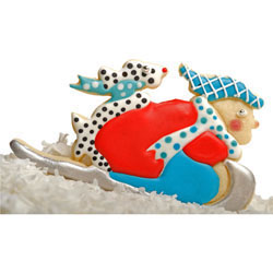 Sledder & Dog Cookie Cutter, Hammer Song