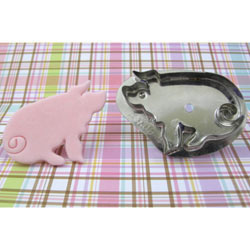 Hammer Song Wee Pig Tin Cookie Cutter
