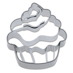 Cookie Cutter Cupcake Stainless Steel